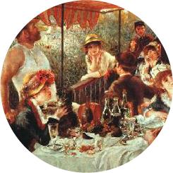 La Vie Moderne - - Pierre-August Renoir